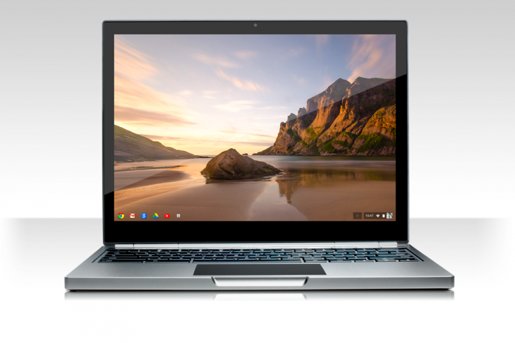 Pixel front white 730x486 Google unveils 12.85 touch screen Chromebook Pixel with a 2560x1700 display, starting today at $1,299