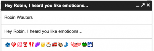 Screen Shot 2013 02 08 at 16.14.54 520x174 Love emoticons? Gmails got you covered. You can now add more than 1,000 of them to your emails
