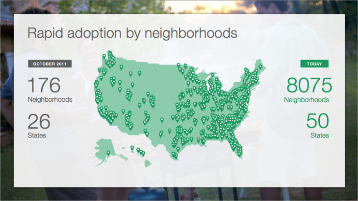 Snap 2013 02 12 at 00.00.21 730x411 Neighborhood social network Nextdoor nabs $21.6m to grow its platform, coming to a doorstep near you