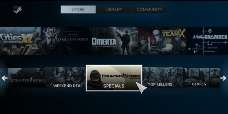 Steam 730x365 If the next Xbox and PlayStation block used games, the whole industry will be shaken to its core