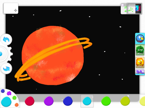 a1 Drawp: A kid friendly social drawing app for iPad