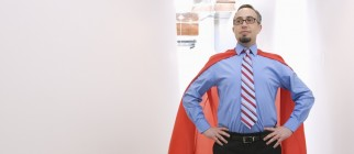 business-superhero