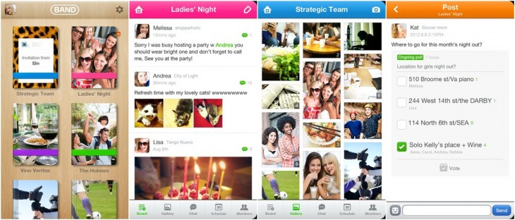 line band images 730x312 Line, the 100m user Asian chat app, spawns a private mobile social network to rival Facebook