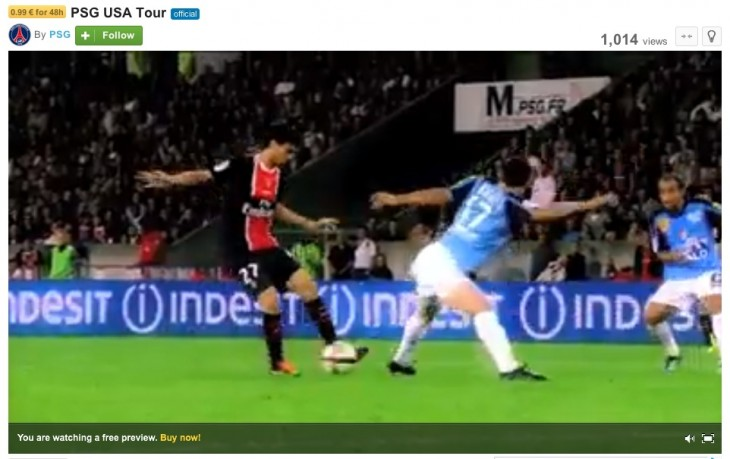 openvod psg preview 730x459 Dailymotion advances its paid content service OpenVoD, powered by Cleeng