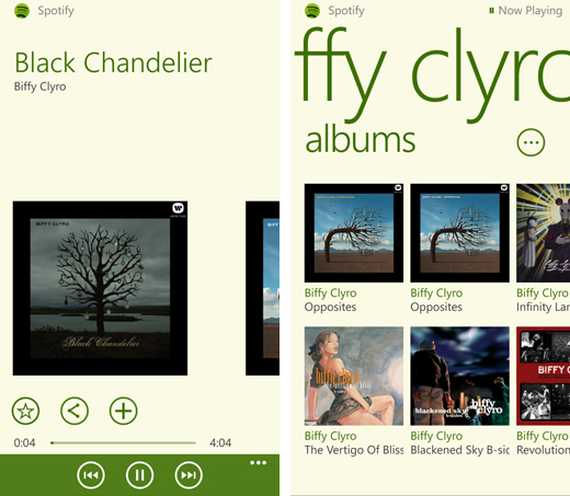 spotifywp82 After a long wait, Spotify finally launches Windows Phone 8 app in beta