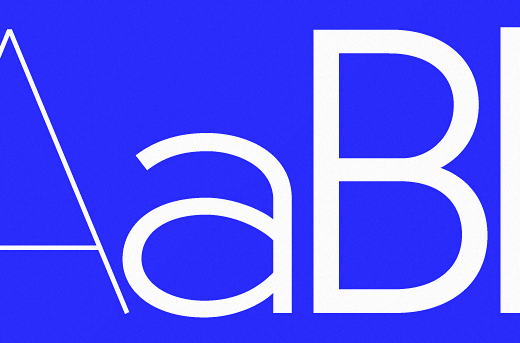 u8 40 Of the most beautiful typeface designs released this January