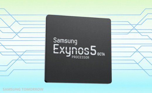 Samsung Announces the Availability of Exynos 5 Octa for New Generation of Mobile Devices  1 520x319 Samsungs eight core Exynos 5 Octa chip to begin mass production in Q2 2013