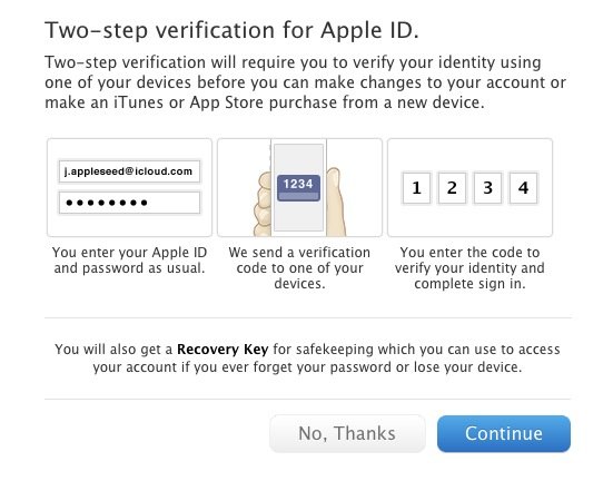 Screen Shot 2013 03 21 at 11.39.01 AM Heres how Apples new two step verification for iCloud and Apple IDs works