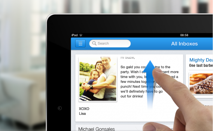 e1 730x448 Incredimail for iPad is more than an email client, it could become the ultimate unified messaging app