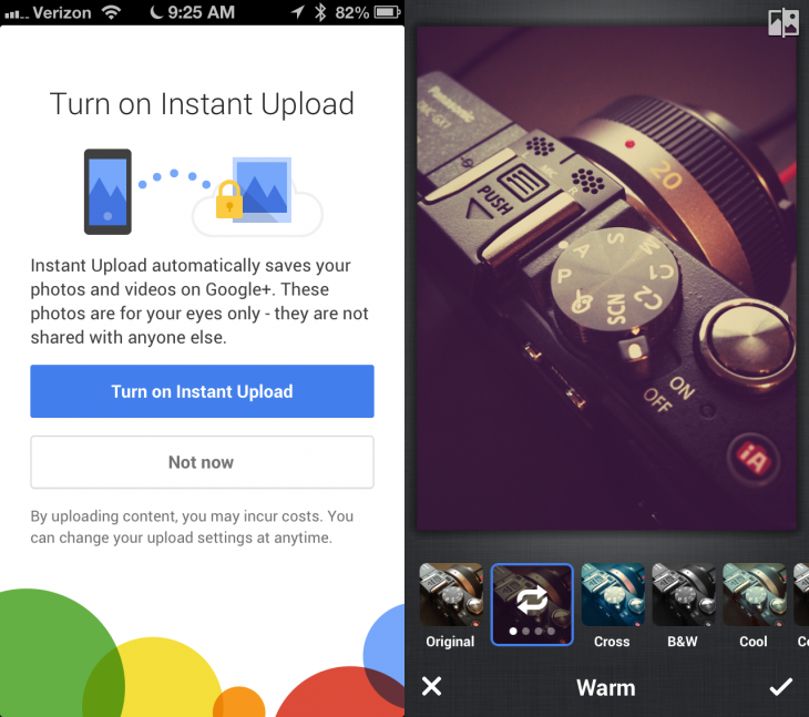 google plus 730x647 Google+ apps get big update with photo filters & editing, new profiles, better new user flow, and more