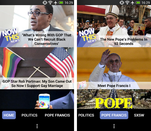 nowthisnews1 NowThis News launches an Android app for its bite sized video news network