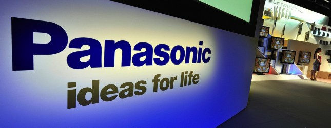 A logo of Japan's electric giant Panason