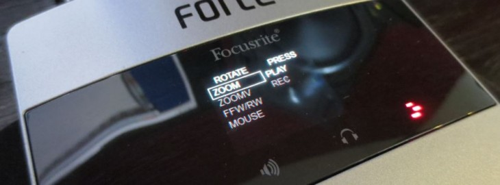Forte DAW Control 730x270 The Focusrite Forte is a stunning USB sound card for the audiophile in all of us