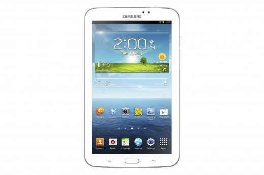 GALAXY Tab 3 7 inch 001 WiFi1 520x346 Samsung reveals the Galaxy Tab 3, a 7 inch Android tablet to take on the Nexus 7 and iPad mini