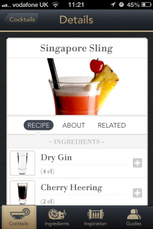 IMG 3218 220x330 Love cocktails? Say hello to Minibar, an app as classy as your taste in drinks