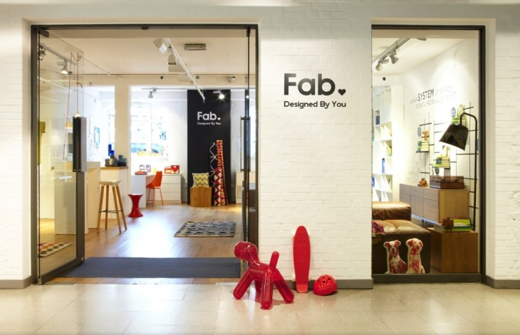 New Fab Announcements 4 29 13 .0901 730x471 Fab's 3rd pivot takes on Amazon with physical stores, exclusive products, redesigns, EU expansion