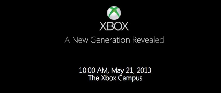 Screen Shot 2013 04 24 at 10.06.15 AM 730x310 Microsoft to unveil next Xbox at event on May 21st at its Redmond campus