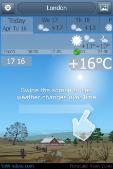 a4 220x330 TNW Pick of the Day: YoWindows neat animated weather app lands on iOS