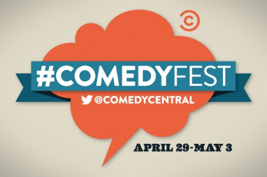 comedyfest twitter 520x346 Twitter and Comedy Central kick off 5 day #ComedyFest with Mel Brooks first tweet