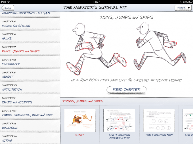 d9 730x547 TNW Pick of the Day: The Animators Survival Kit is a spellbinding iPad app for budding animators