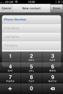 e9 220x330 ReachFast is a slick contacts app for iPhone