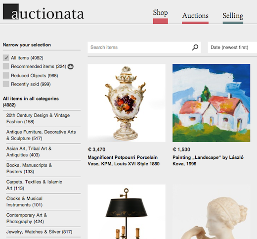 f00df1aa e54b 4126 b14e ba511b2383ab Online auction house Auctionata wins $20.2m from Earlybird, Kite and others