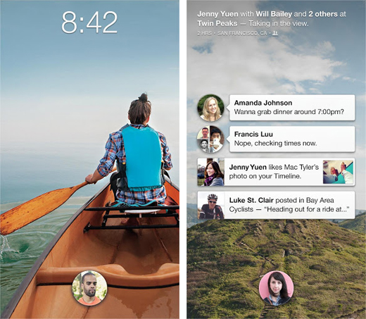fb1 Facebook Home arrives on Google Play, but only for US users on select devices