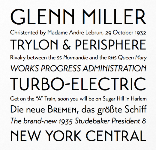 transat 23 Of the most beautiful typeface designs released last month