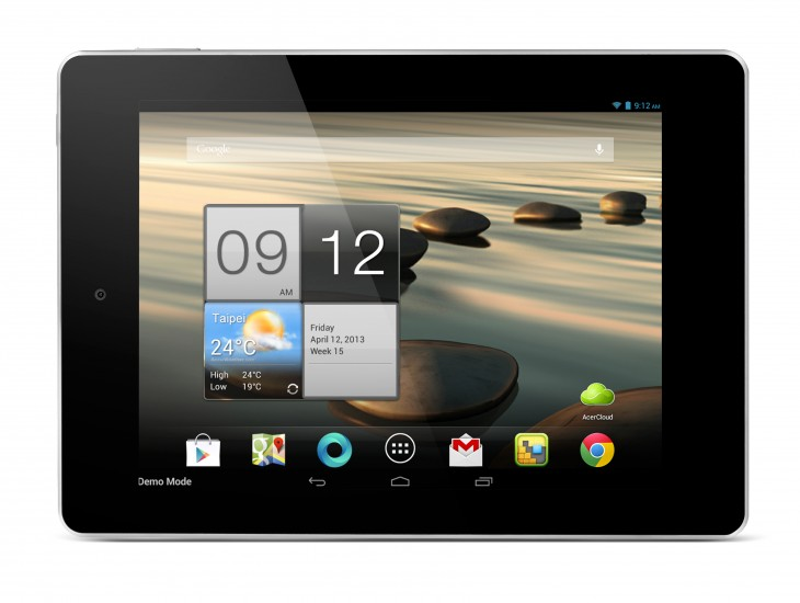 Acer iconia A1 730x550 Acer just restarted the Android tablet race to the bottom: The new target is $100