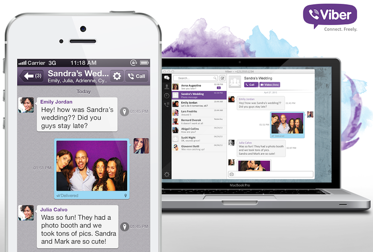 Desktop PR MaciPhone Viber hits 200m users, rivals Skype with video calling in new Mac and Windows desktop apps