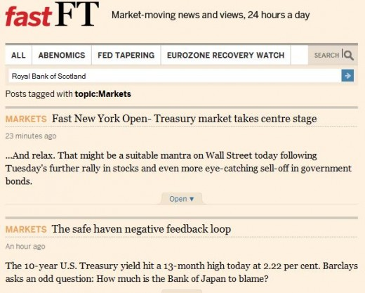 FTFAST3 520x417 The FT launches FastFT for live commentary on market moving news. Its like Twitter with context.