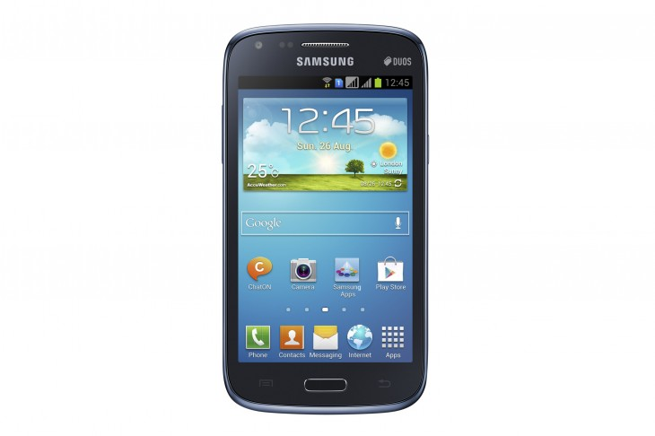 Samsung Unveils Galaxy Core Android Smartphone With Dual-SIM Support