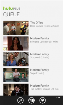 HP 220x366 Hulu Plus for Windows Phone 8 is available to download now