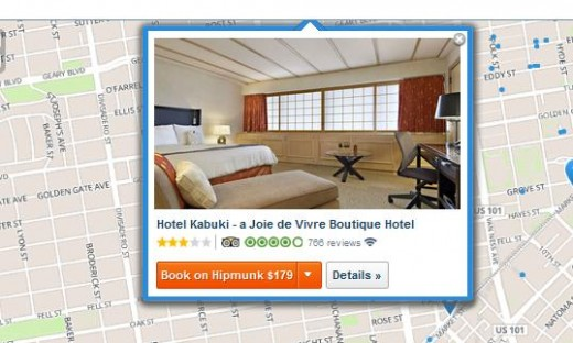 Hipmunk 520x312 Hipmunk taps Expedia to introduce hotel bookings directly through its travel search apps