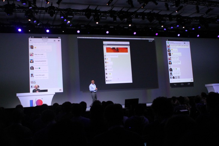 IMG 0625 730x486 Google launches Hangouts, a new unified, cross platform messaging service for iOS, Android and Chrome