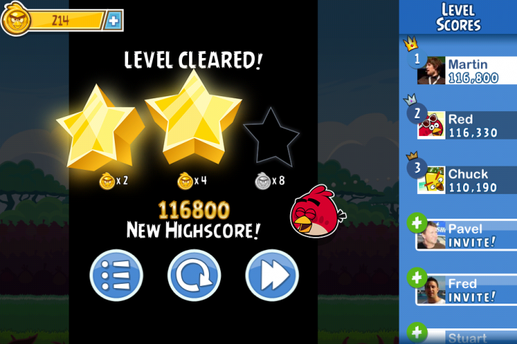 IMG 3351 730x486 Angry Birds Friends, the social twist on Rovios hit game, is out now for Android and iOS