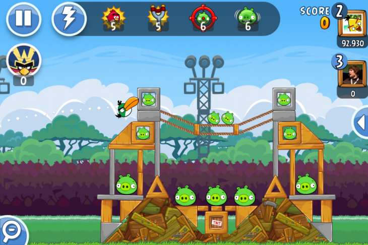 IMG 3352 730x486 Angry Birds Friends, the social twist on Rovios hit game, is out now for Android and iOS