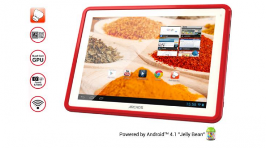 "Screen Shot 2013 05 13 at 18.03.15 520x290 Enjoy cooking? Archos lifts the lid on the ChefPad, a budget 9.7"" Android tablet launching in June"