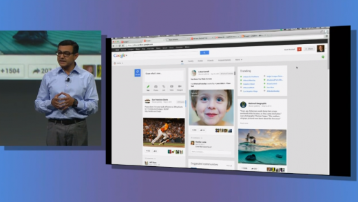 Screen Shot 2013 05 15 at 1.36.42 PM 520x293 Google announces 41 new Google+ features including Pinterest like card based Stream