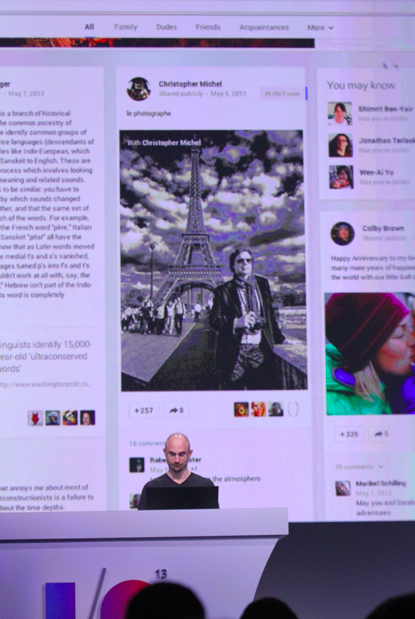 Screen Shot 2013 05 15 at 10.35.42 AM Google announces 41 new Google+ features including Pinterest like card based Stream