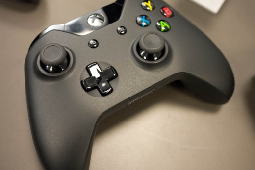 ces 4 520x347 Hands on: The Xbox One controllers refined d pad and 4 independent vibrators