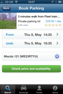 f3 220x330 ParkatmyHouse takes its parking marketplace to iOS, but its UK only for now