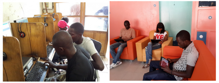 go 730x276 Google replaces computers with tablets in a Senegal cybercafé