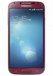 image   front   red gs4 201305220757022 220x314 Samsung Galaxy S4 in Aurora Red to launch exclusively with AT&T on June 14, pre orders open May 24