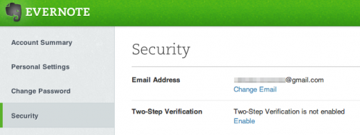 photo 4 520x196 Evernote rolls out 2 factor authentication to premium accounts, coming to all users in near future