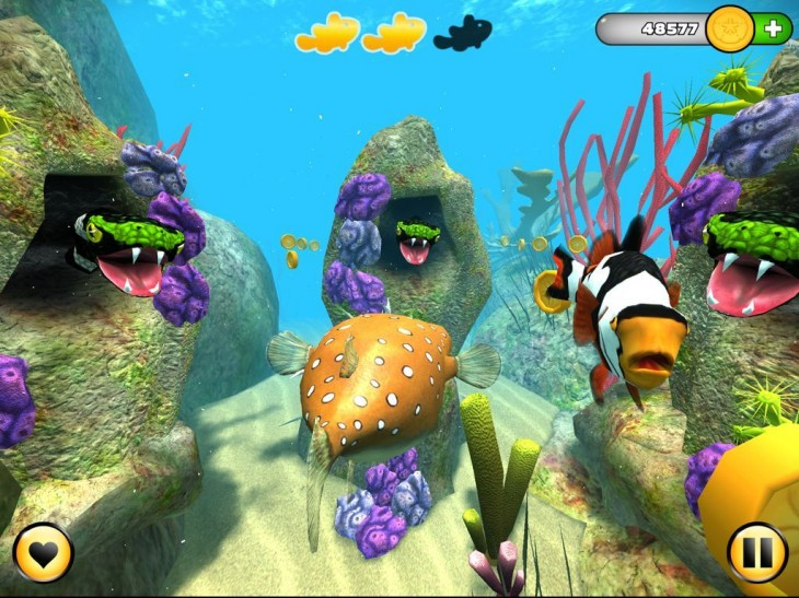 WemoLab releases Superfugu, an iPad kids game to go with its online underwater universe