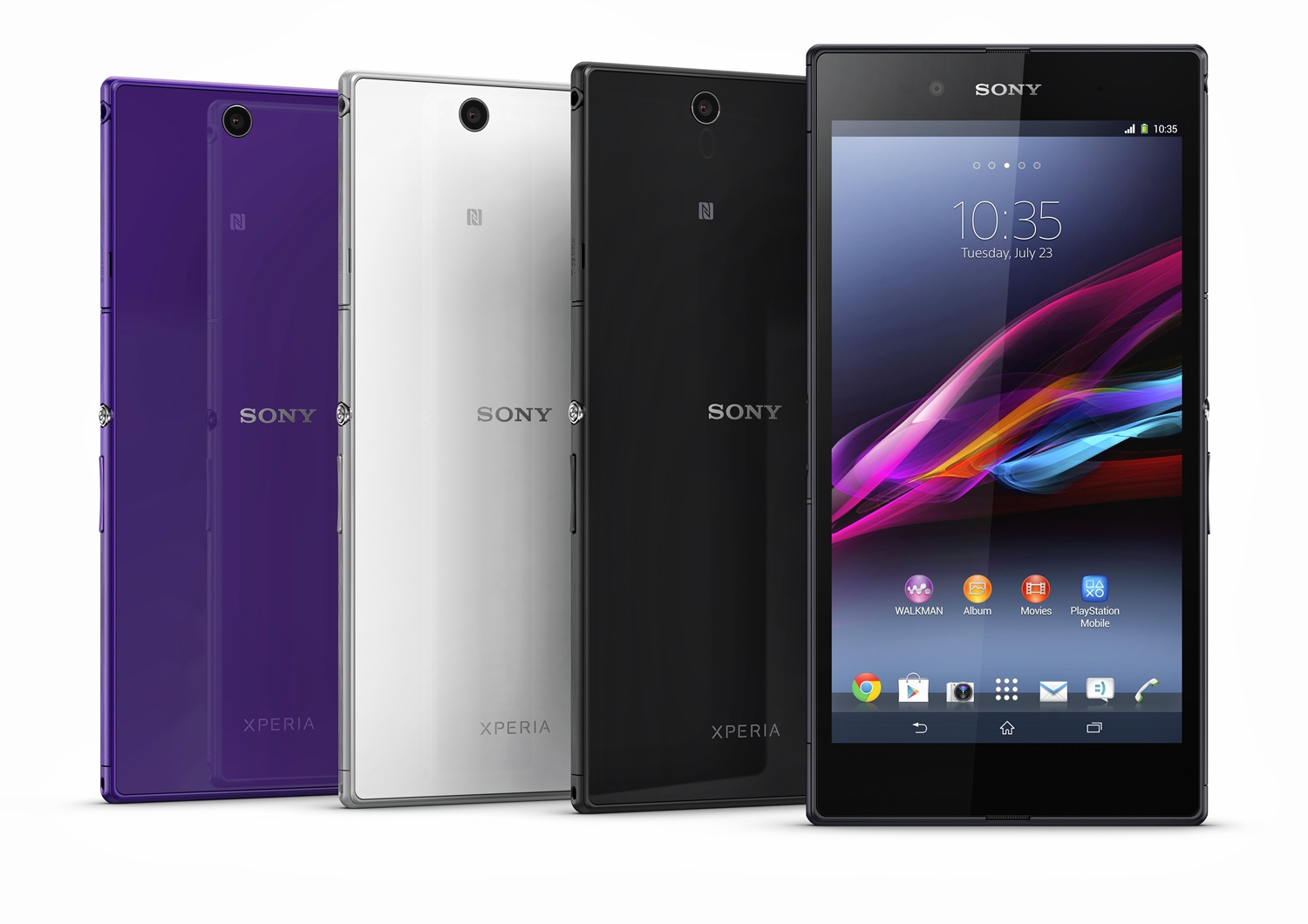 Only in Japan: Sony transforms its Xperia Z Ultra smartphone into a WiFi-only tablet