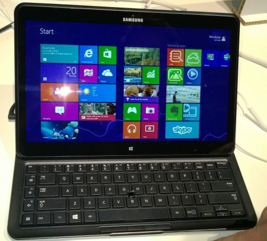 ATIVQ 2 520x470 Hands on with Samsungs hybrid Windows 8 and Android Galaxy ATIV Q