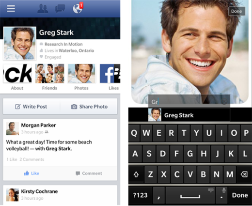 BB10 FB 10 2 0 Facebook for BlackBerry 10 updated with design tweaks and photo album flourishes
