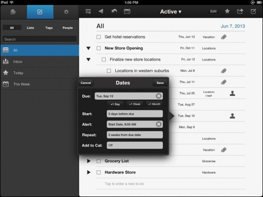 NoteSuite iPad Screen 2 ToDo Med 520x390 NoteSuite takes on Evernote with paid for apps, no subscription fee and free user data
